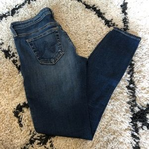 AG Adriano Goldschmied Skinny Ankle Jeans 25